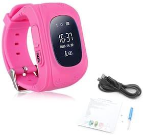Crystal Digital Q50 Smart Watch Children Kid Wristwatch GSM Gprs GPS Locator Tracker Anti-Lost Smartwatch Child Guard