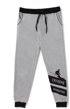CuB McPAWS Boy Cotton Track pants - Grey