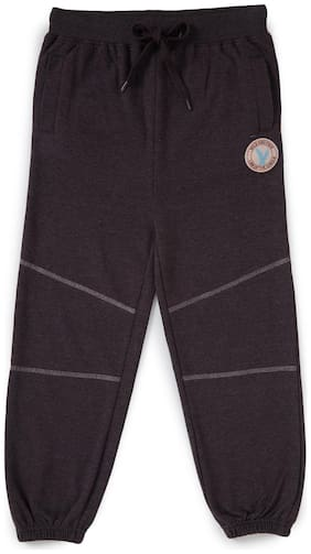 CuB McPAWS Boy Cotton Track pants - Brown