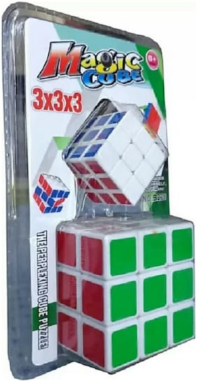CUBE,PUZZLE,MIND GAME,MULTICOLOR PACK OF 2