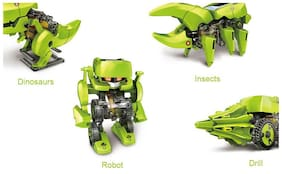 Cute Sunlight Solar 4 in 1  Robot Kit