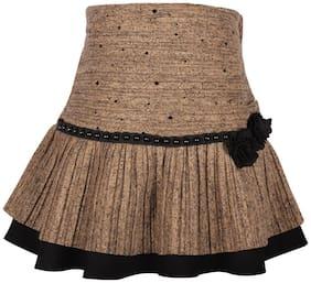 Cutecumber Girl's Brown Skirts