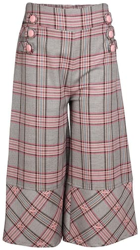Cutecumber Girl Polyester Trousers - Pink