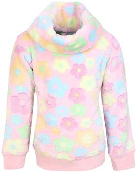 Cutecumber Baby boy Acrylic Solid Sweater - Pink