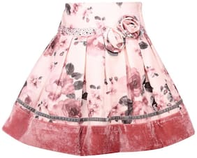 Cutecumber Girl's Dusty Pink Skirts