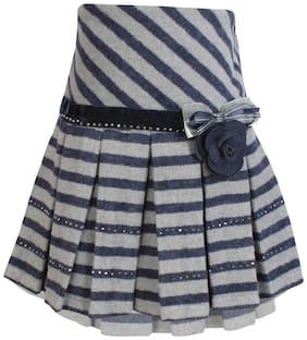 Cutecumber Girls PartyWear Coat Fabric Winter Skirt