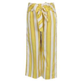 Cutecumber Girl Polyester Trousers - Yellow