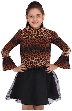 Cutecumber Girl Knitted Top & Bottom Set - Black