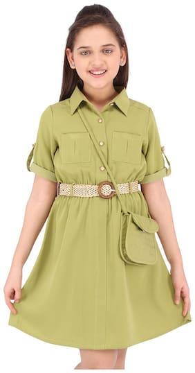 Green Princess Frock