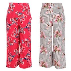 Cutecumber Girl Polyester Trousers - Multi