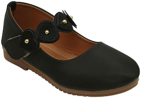 D'chica Black Ballerinas For Girls