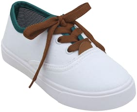D'chica White Boys Casual shoes