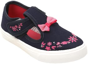 D'chica Blue Casual Shoes For Girls