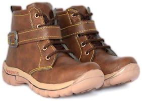 D'zigners Brown Boys Boots