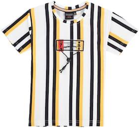 DANABOI Boy Cotton blend Striped T-shirt - Multi