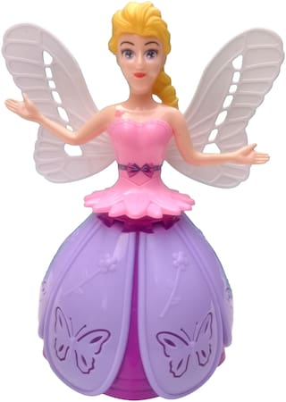 Dancing Angel Girl Robot with Lights and Music Toy