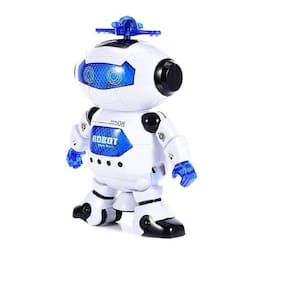 Dancing Robot with Swinging Arms and Head , Multi Color