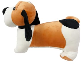 DANR Adorable Plush Soft Barnard Dog Toy-Looks just Like The Real one! Kids Will Love Cuddling (Size :-56 cm)