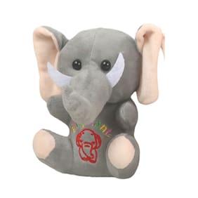 Danr Cute Baby Elephant Stuffed Soft Plush Toy For Kids (5011 Elephant Grey)