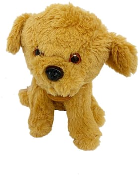 DANR Plush Sitting Dog Stuff Toy for Infants/Kids. The Child Will Love to Hug and Cuddle and Enjoy his/her Sleep with it.( Size :-28 cm )