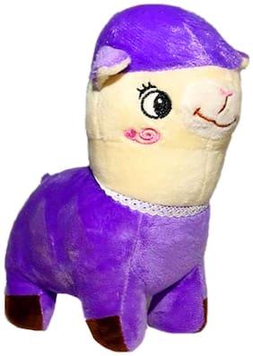 DANR Sheep Soft Toy Best Quality Stuffed Soft Plush Toy Sheep Animals Soft Toys 353-Sheep-Purple