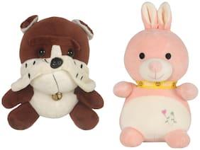 DANR Super Soft Quality Material Cute Animal Pack of 2 - 20cm