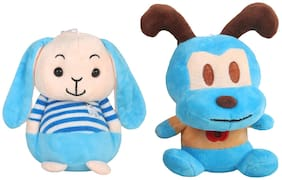 DANR Super Soft Quality Material Cute Animal Pack of 2 - 18cm