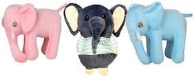 DANR Super Soft Quality Material Cute Animal Pack of 3 - 20cm