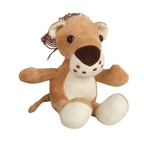 Danr Supersoft Quality Material Cute Forest Animals ( 3153 Animal Tan)