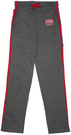 Day 2 Day Boy Cotton Track pants - Grey