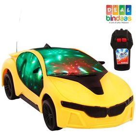 DealBindaas Remote Car Two Way 3D Lights 1 Pc