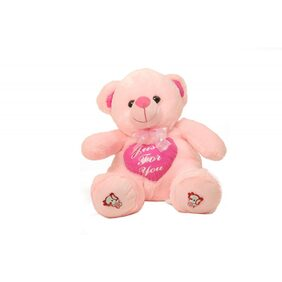 DealBindaas Valentine Teddy Bear Sitting With Heart