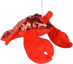 Deals India plus soft toy - lobster - Red - cute sea creature (30 cm )