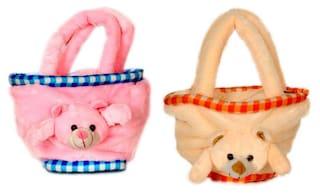 Deals India Teddy Bag set of 2(bag23)