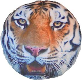 Deals india Animal 3D print cushion - Tiger (35 cm)