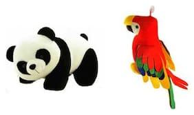 Deals India Multicolor Panda Soft Toy