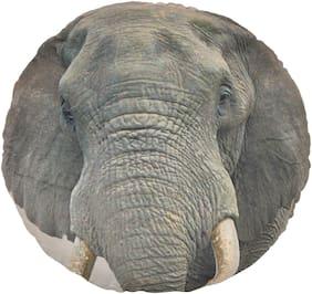 Deals india Animal 3D print cushion - Elephant (35 cm )