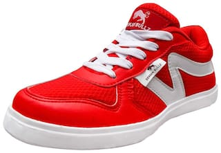 Dekkan bullz Red Boys Casual shoes