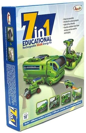 Delhi Haat 7 In 1 Educational Rechargeable Solar Energy Kit