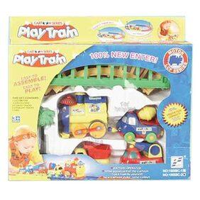 Delhi Haat Cartoon Play Train Set Battery Operated Toy