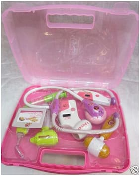 Delhi Haat Doctor Set With Light And Sound Effects Battery Operated Gift Kid Children Love