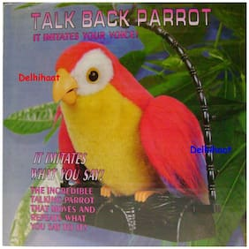 Delhi Haat Latest Imported Talk Back Parrot - Fun For Kids