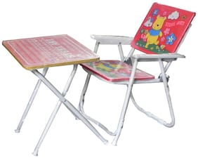 Delhi Haat Multipurpose Table Chair Set For Kids - Strong And Durable