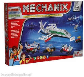 Delhi Haat New & Latest Original Metal Mechanix 5 Engineering Set 301 Pieces For Creative Kids