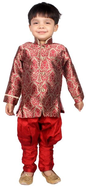 Delhiite Boys Sherwani and Churidar set