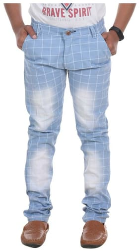DEMISE Boy's Regular fit Jeans - Blue