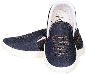Blue Canvas shoes for boys