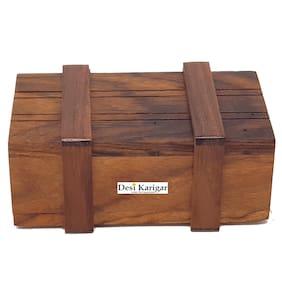 Desi Karigar Wooden puzzle magic box