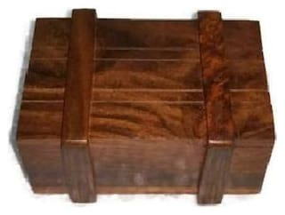 Desi Karigar Wooden puzzle magic box