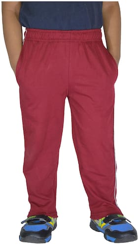 DFH Boy Cotton Track pants - Pink